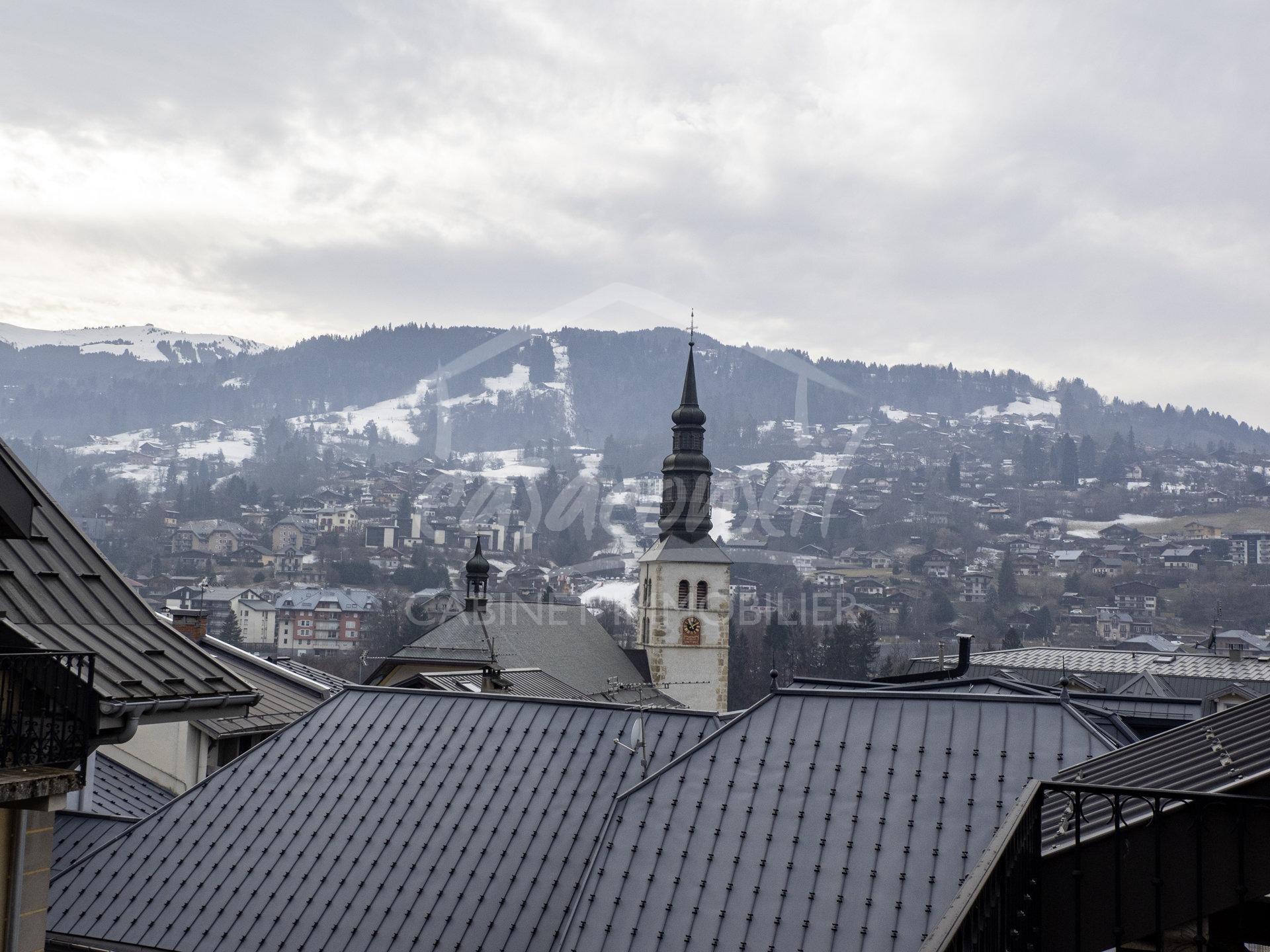 St Gervais Mt Blanc- ravissant T4 Duplex  avec garage