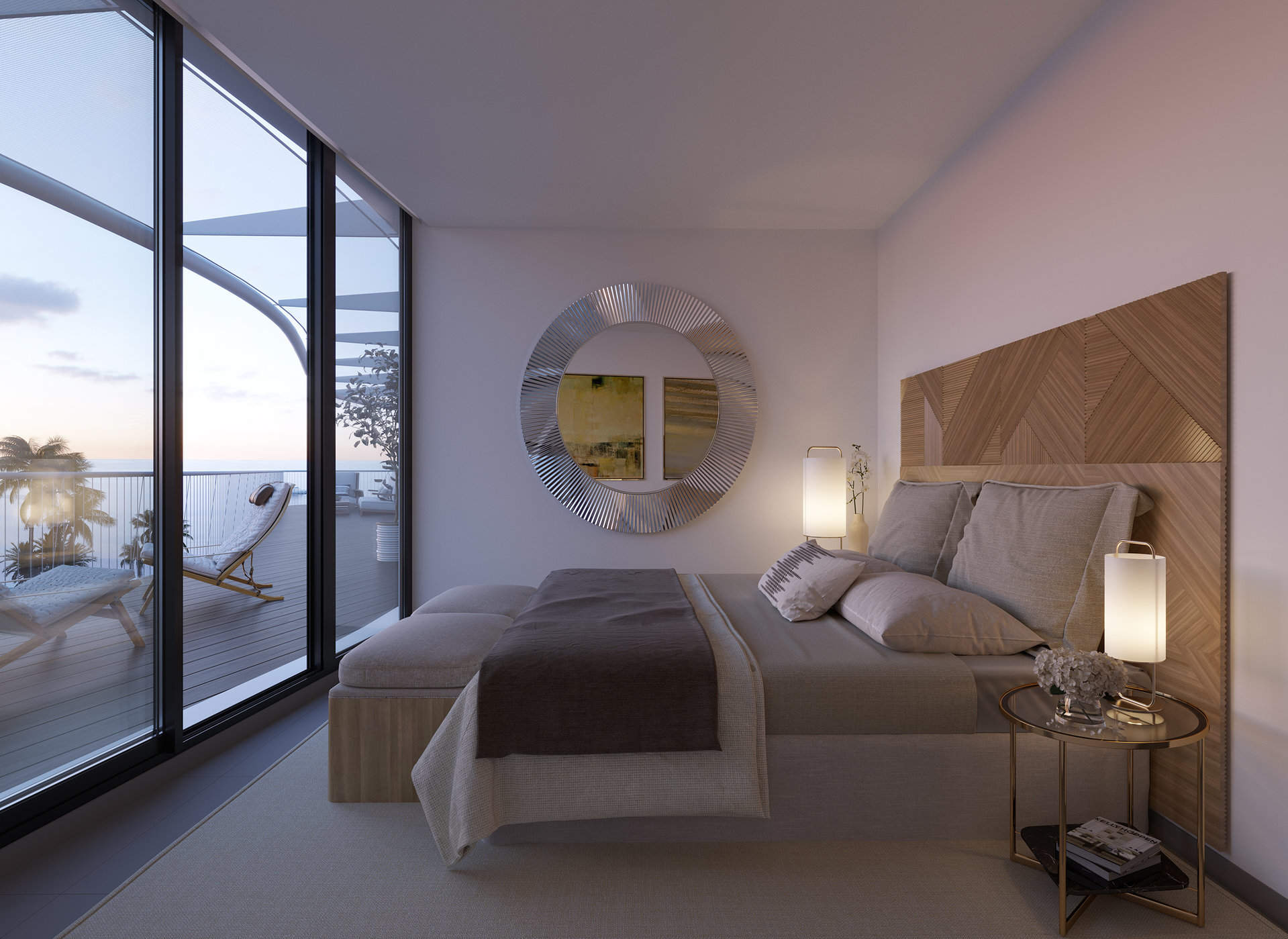 Apartment with 3 bedrooms in new complex