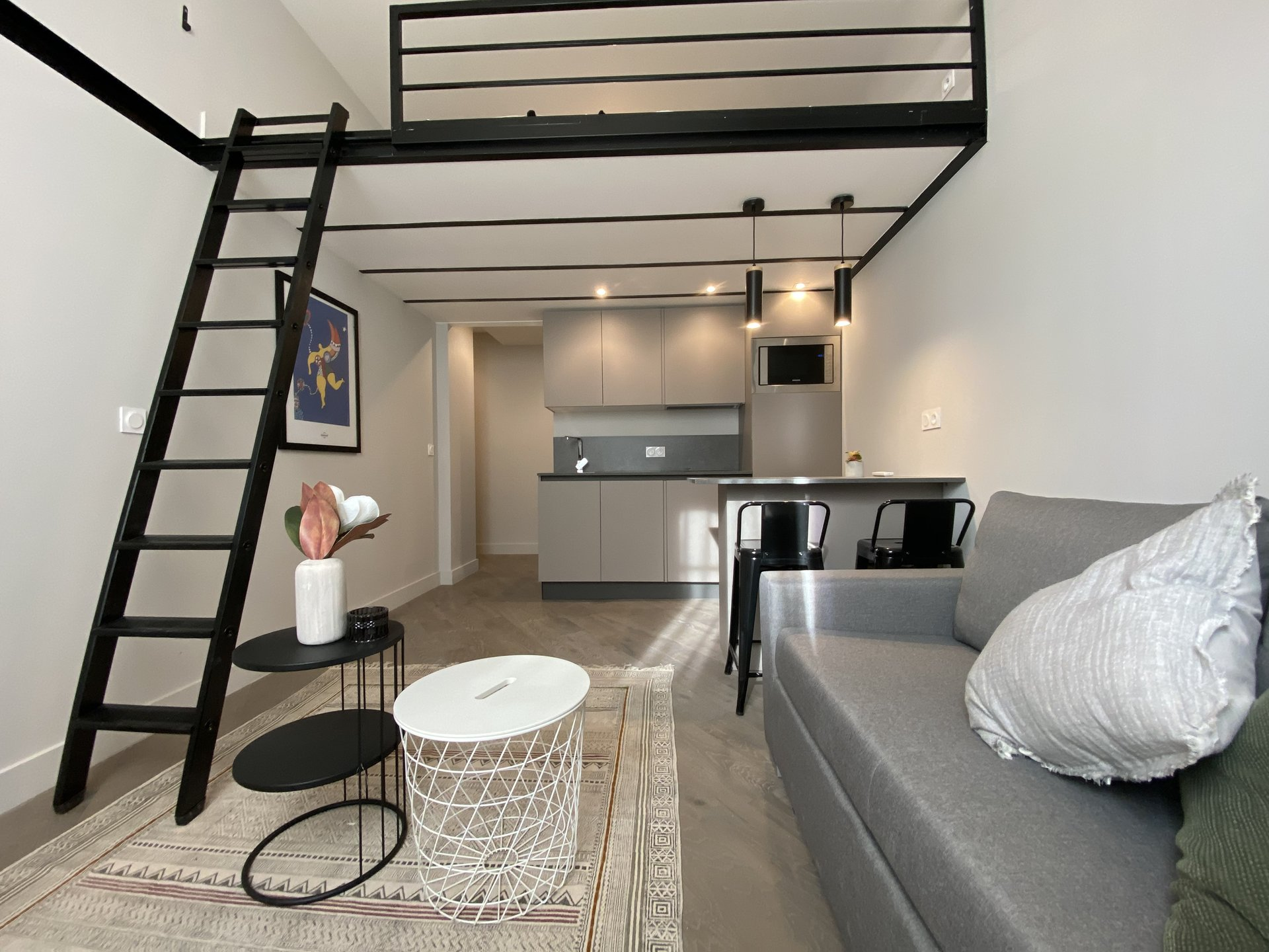 Nice Carré d'Or - 1-bed apartment renovated by an architect