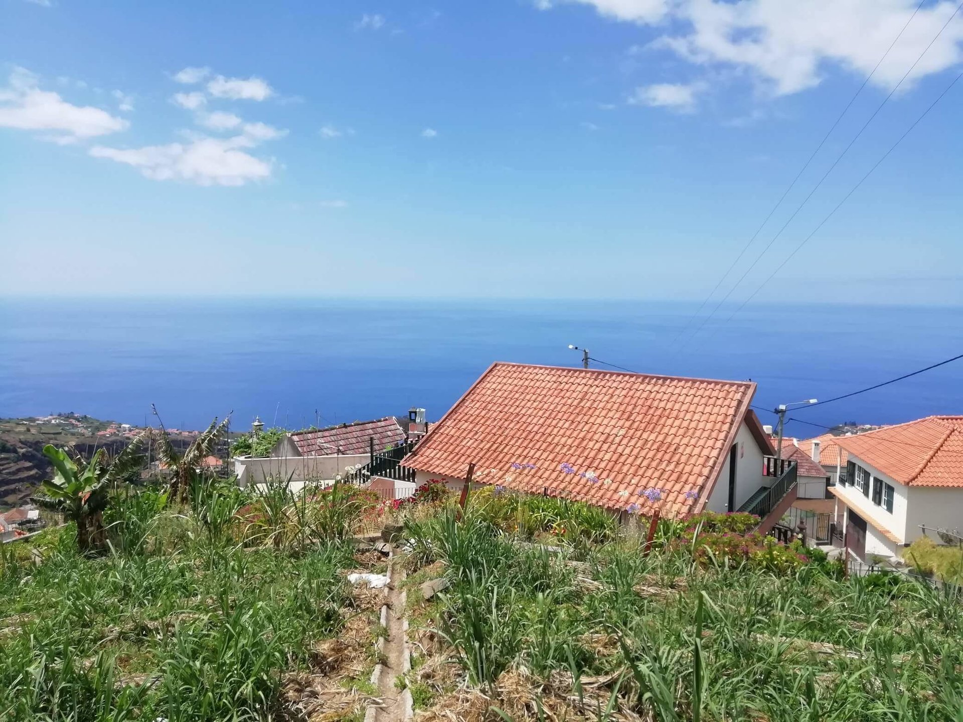 Building Land with Panoramic Ocean View