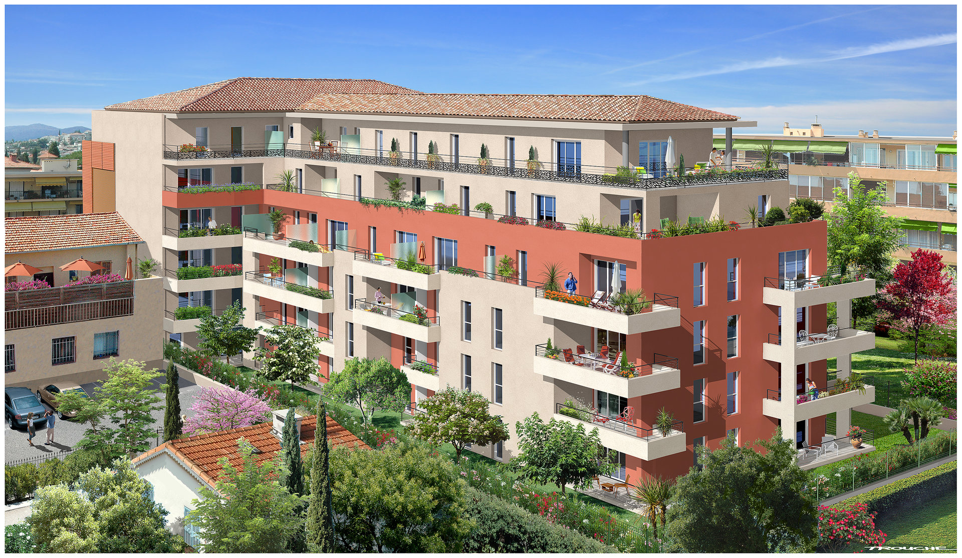 Saint Laurent du Var (06700) - Appartement -2P 42,17 m2 neuf