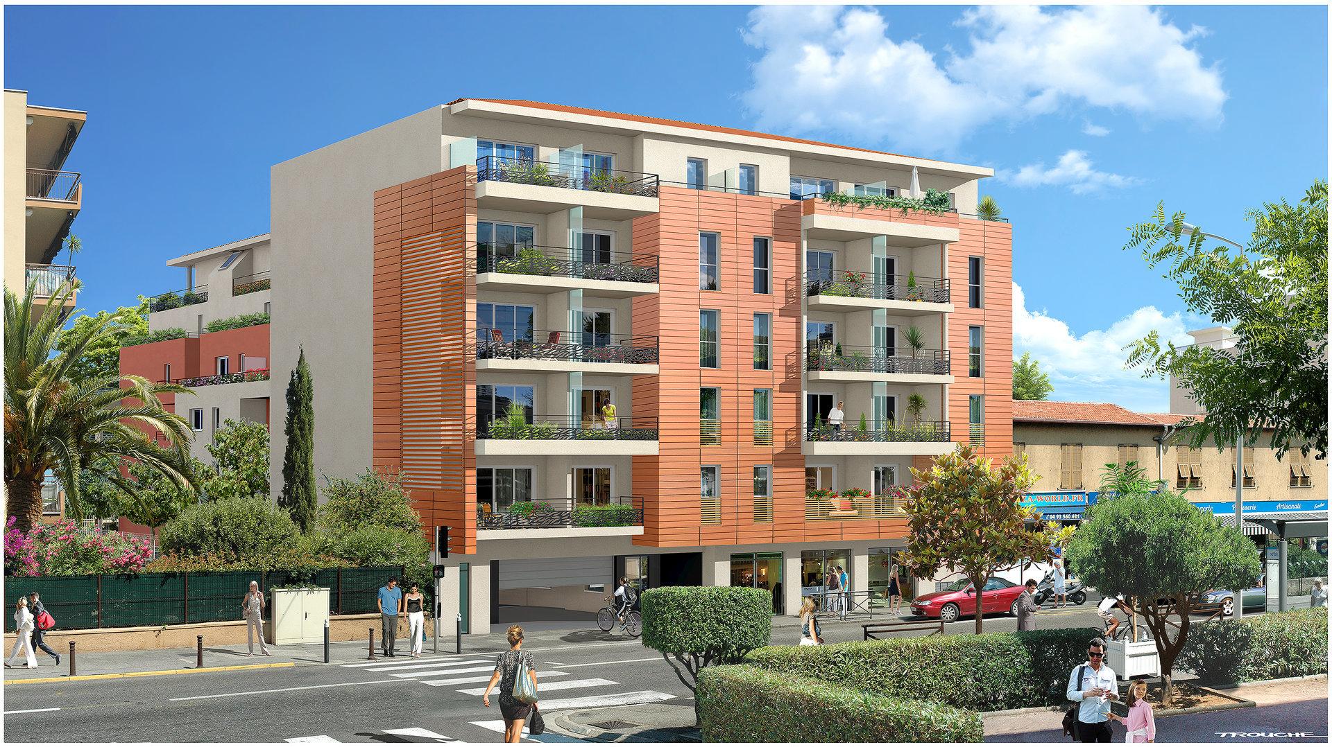 Saint Laurent du Var (06700) - Appartement - 3P 62,96 m2 neuf