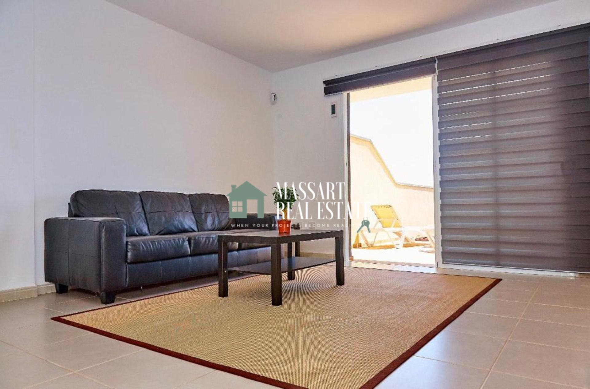 For sale in El Medano, modern townhouse on the seafront with privileged views.