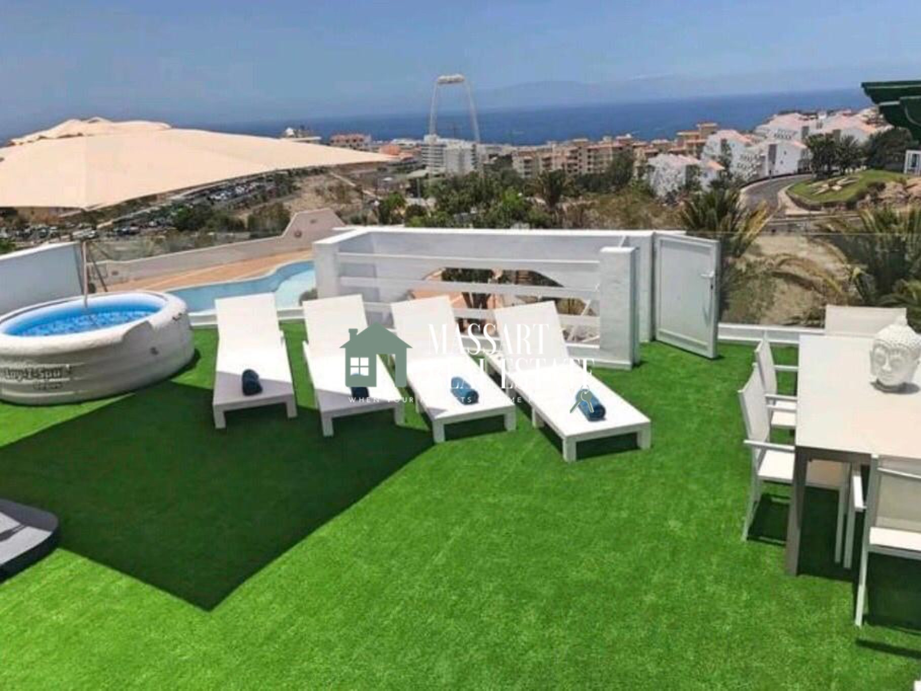 Fantastic apartment of 170 m2 in the area of Torviscas Alto (Adeje).
