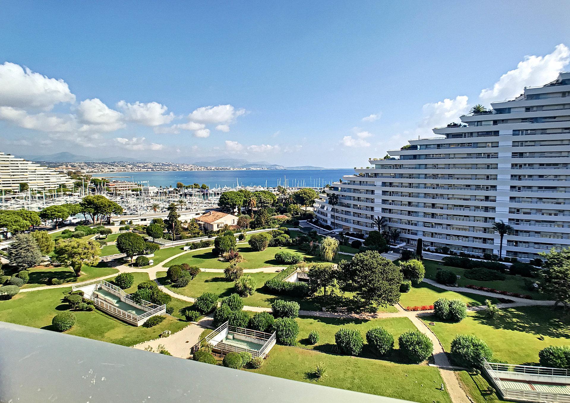 VENTE Appartement 1P Villeneuve-Loubet Marina Baie des Anges Vue Mer