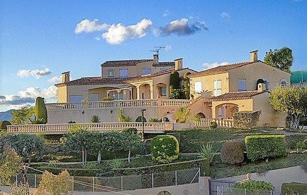 Villa with panoramic sea view La Roquette-sur-Siagne
