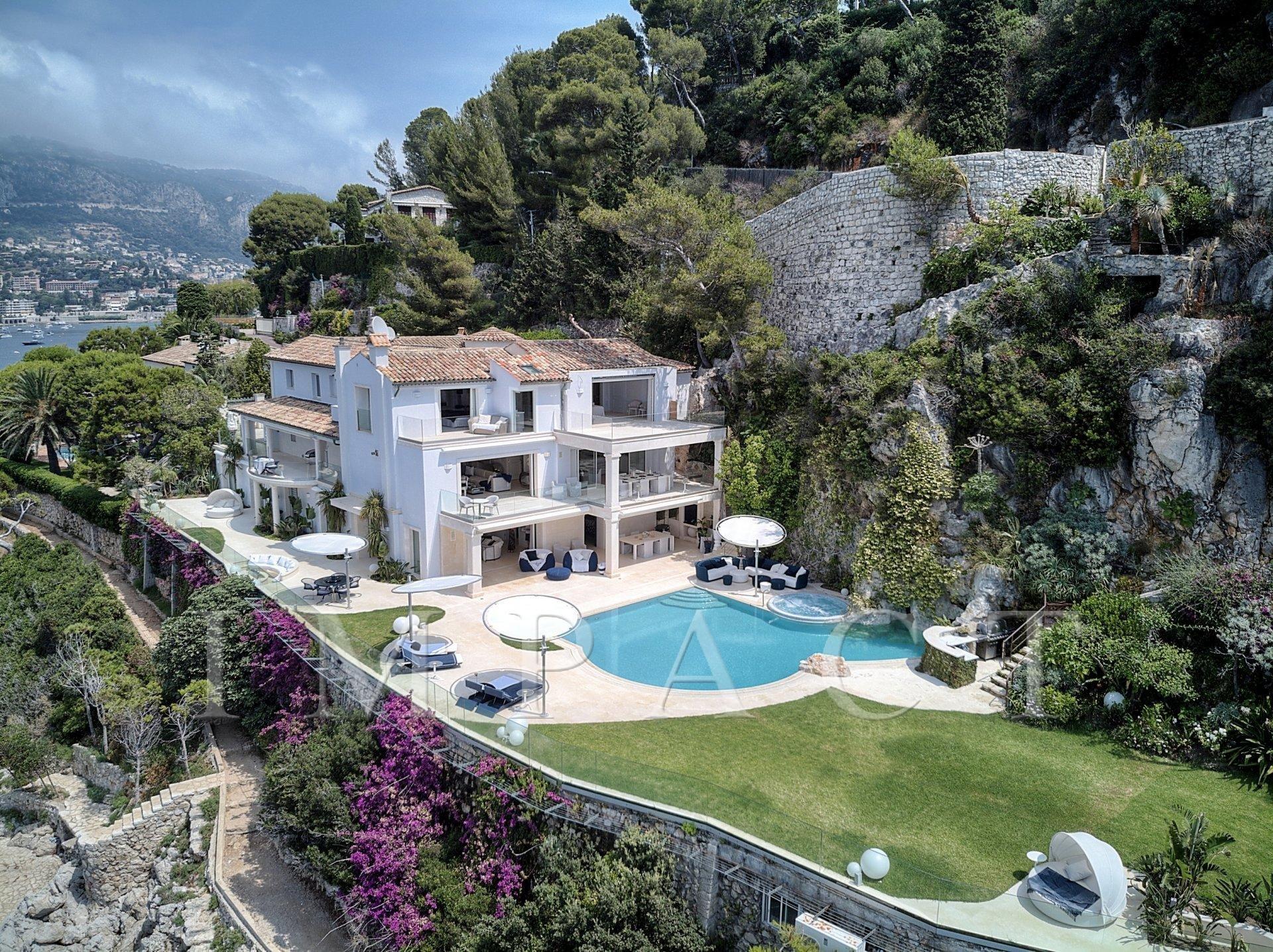 Villa front de mer à louer, accès direct à la mer - Saint Jean Cap Ferrat