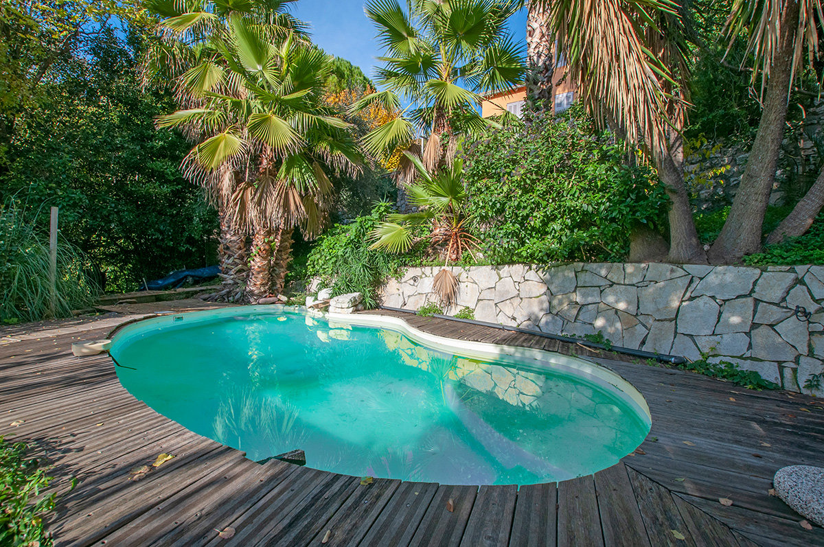 Charming village house with garden, pool and open views