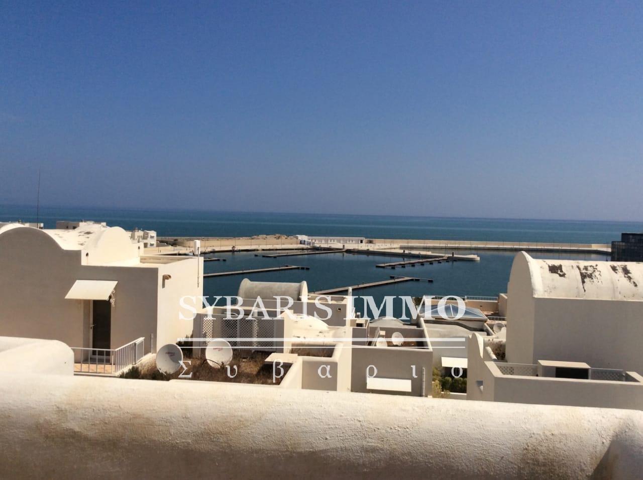 Duplex avec vue mer à Gammarth