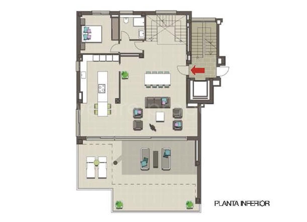 Exklusivt penthouse med fantastisk utsikt