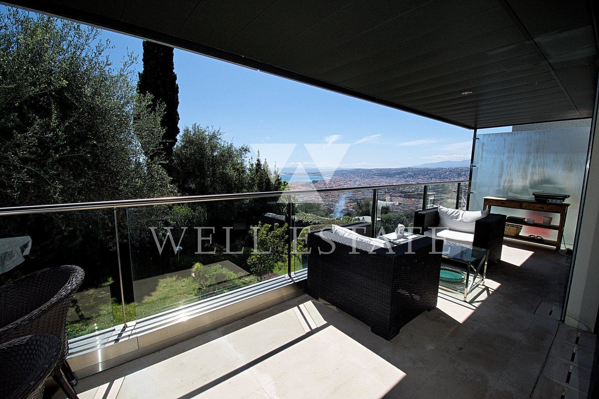 FOR RENT NICE MONT BORON 4 BEDROOM 150M2 APARTMENT SEA VIEW RESIDENCE WITH SWIMMING POOL.