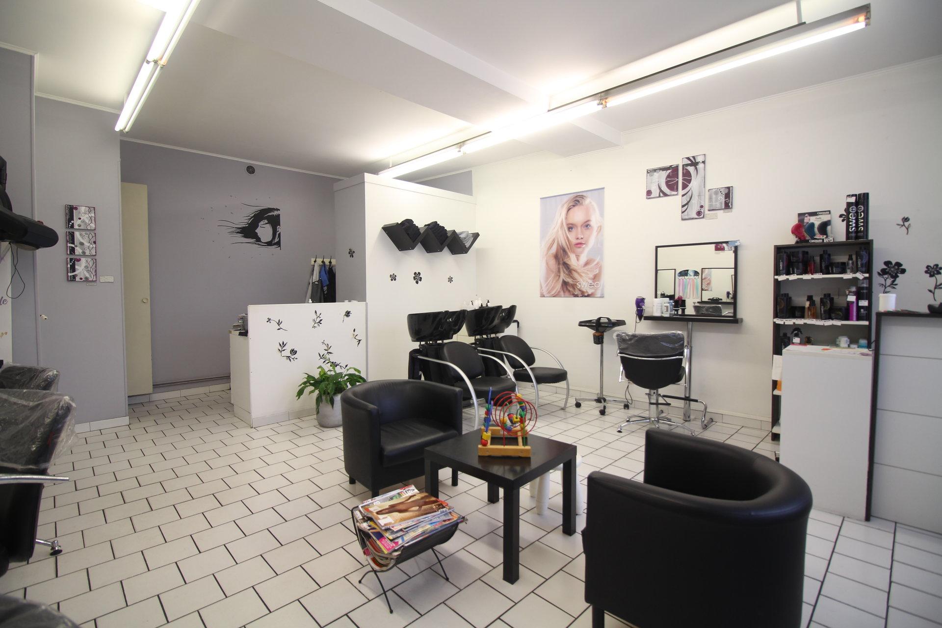 Fond de commerce : salon de coiffure