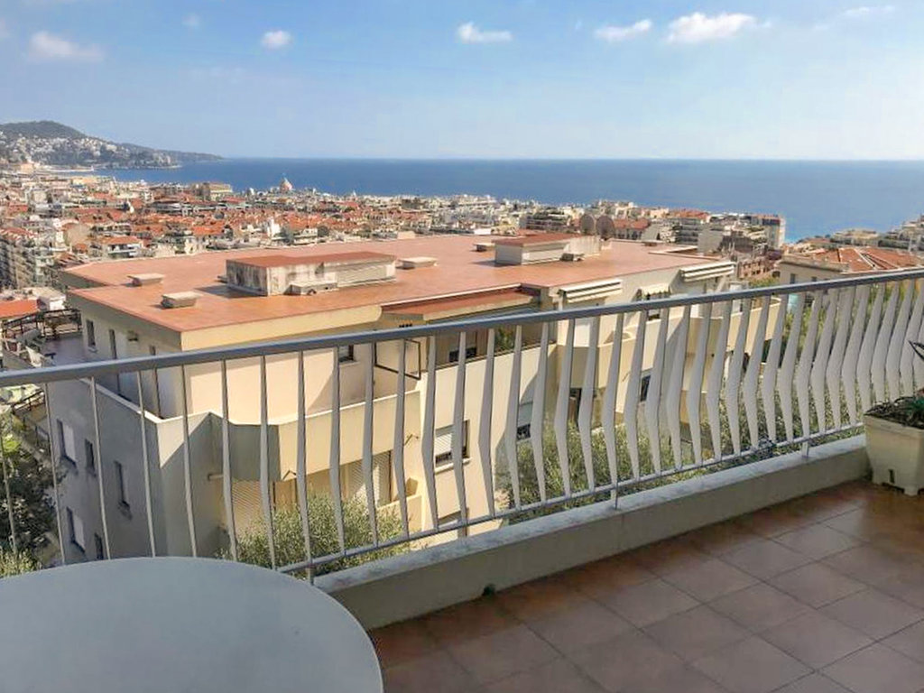 1-bedroom apartment with sea view - Nice Baumettes
