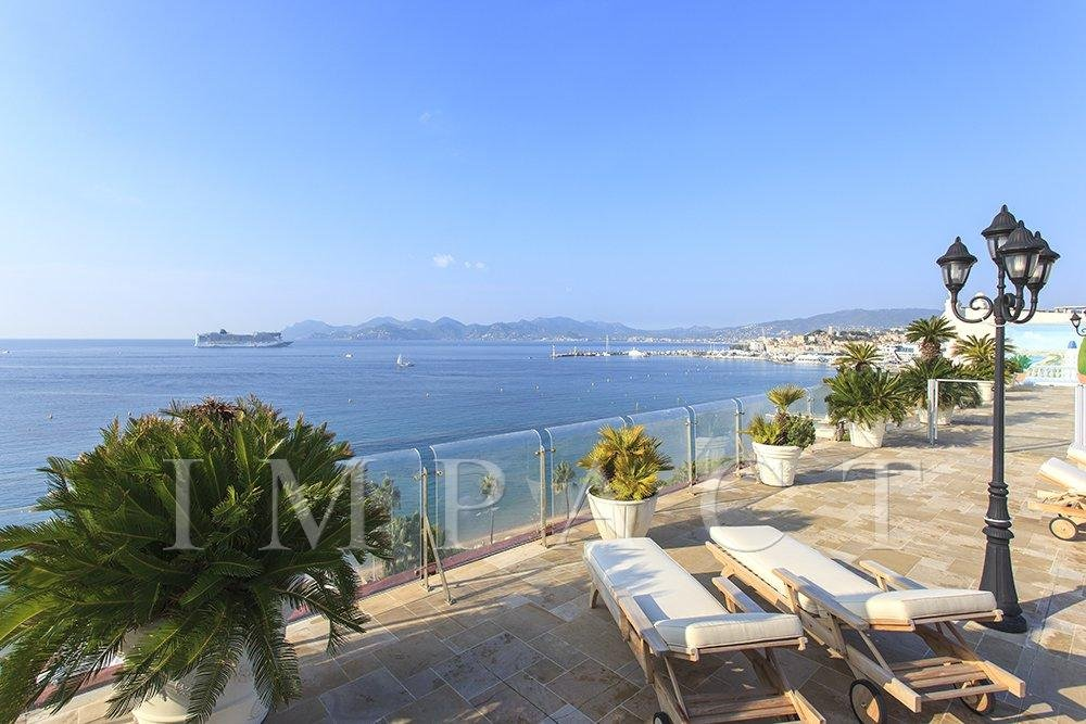 Seasonal rental Penthouse - Cannes Croisette