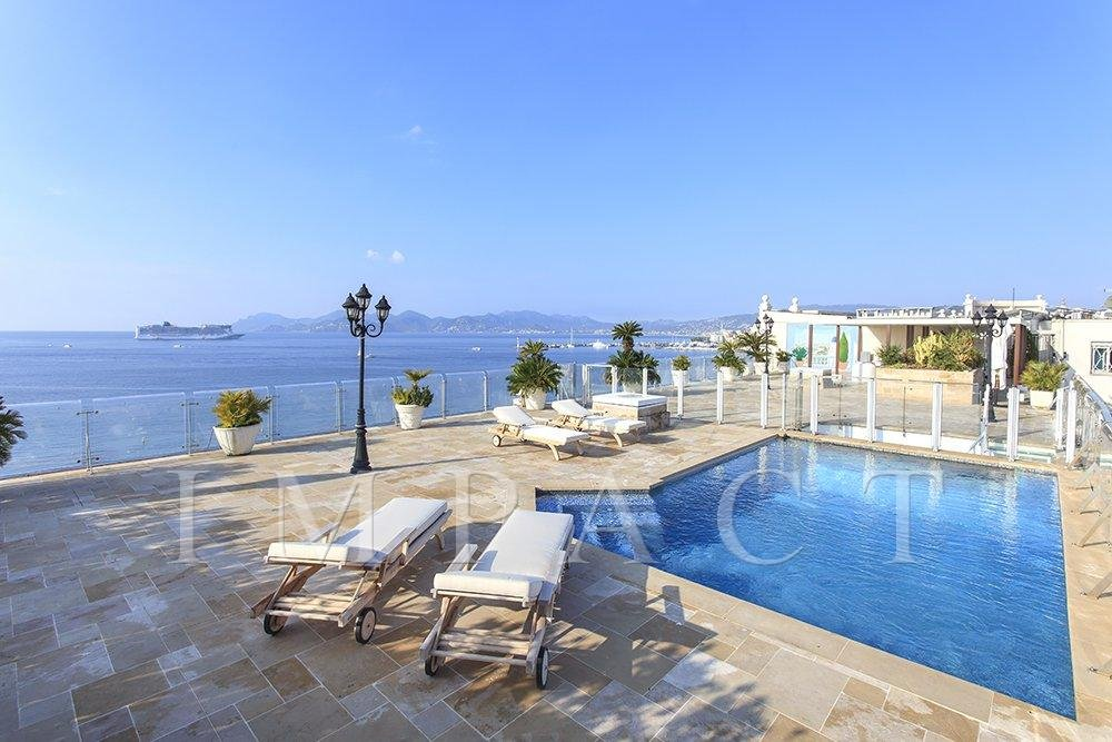 Unique Penthouse to rent in Cannes Croisette