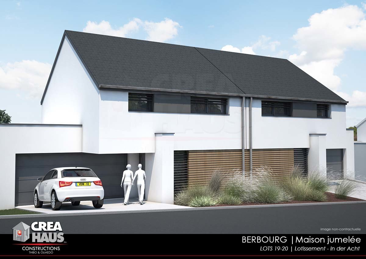 SALES AGREEMENT - House in Berbourg (Future construction-Lot20)