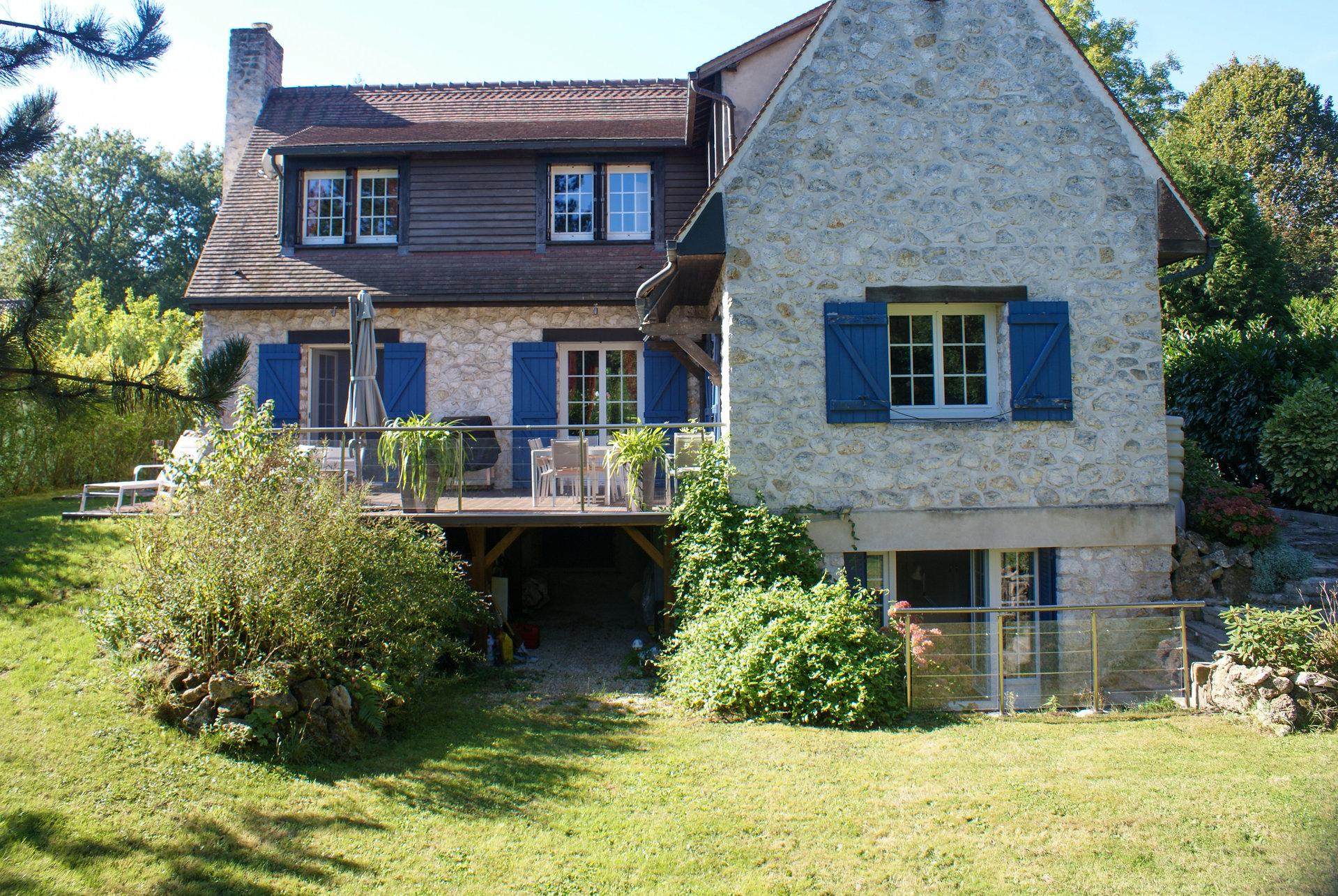 Maison de caractère en vallée de Chevreuse avec son logement indépendant