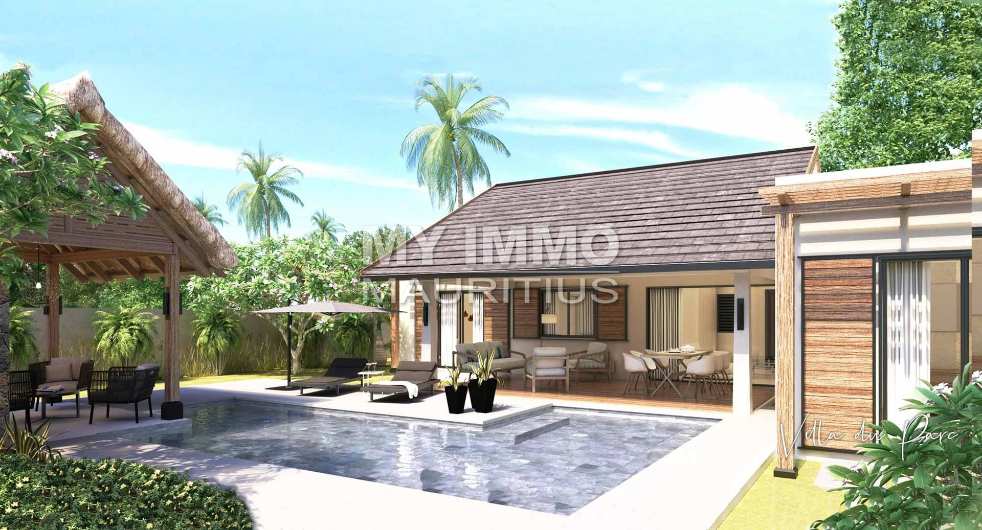 New villa 2 ou 3 bedrooms