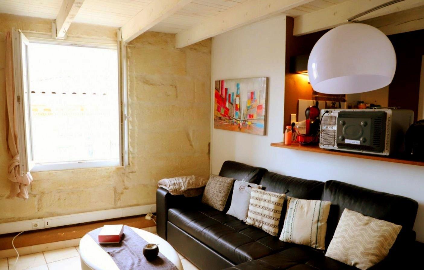 Appartement duplex dans immeuble Haussmannien