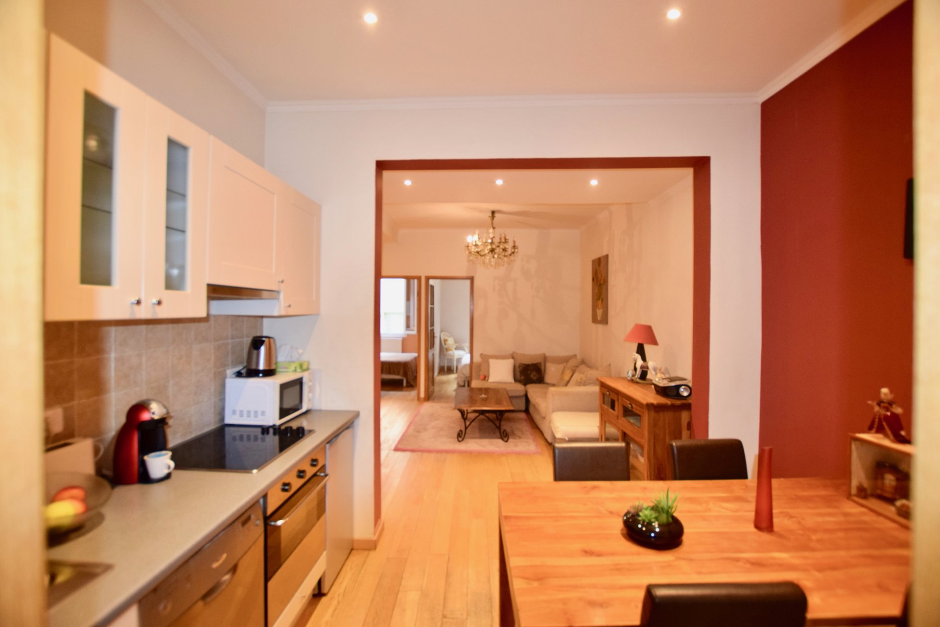 For sale 2 bedroom apartment in the old town of Nice