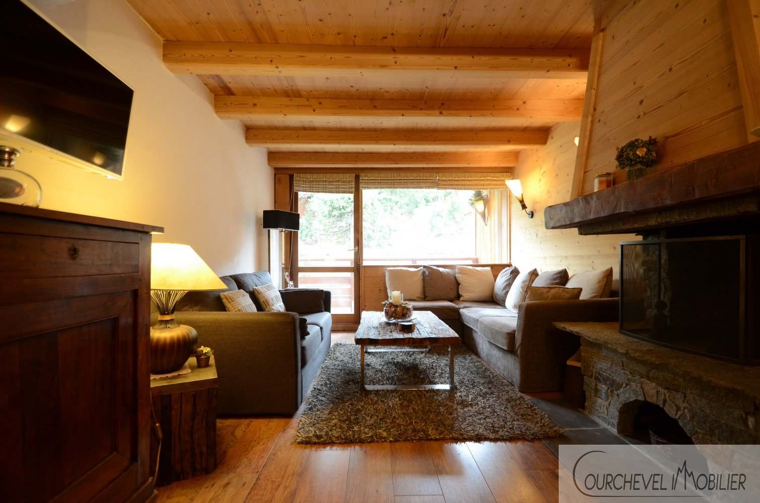Duplex apartment in Courchevel 1550