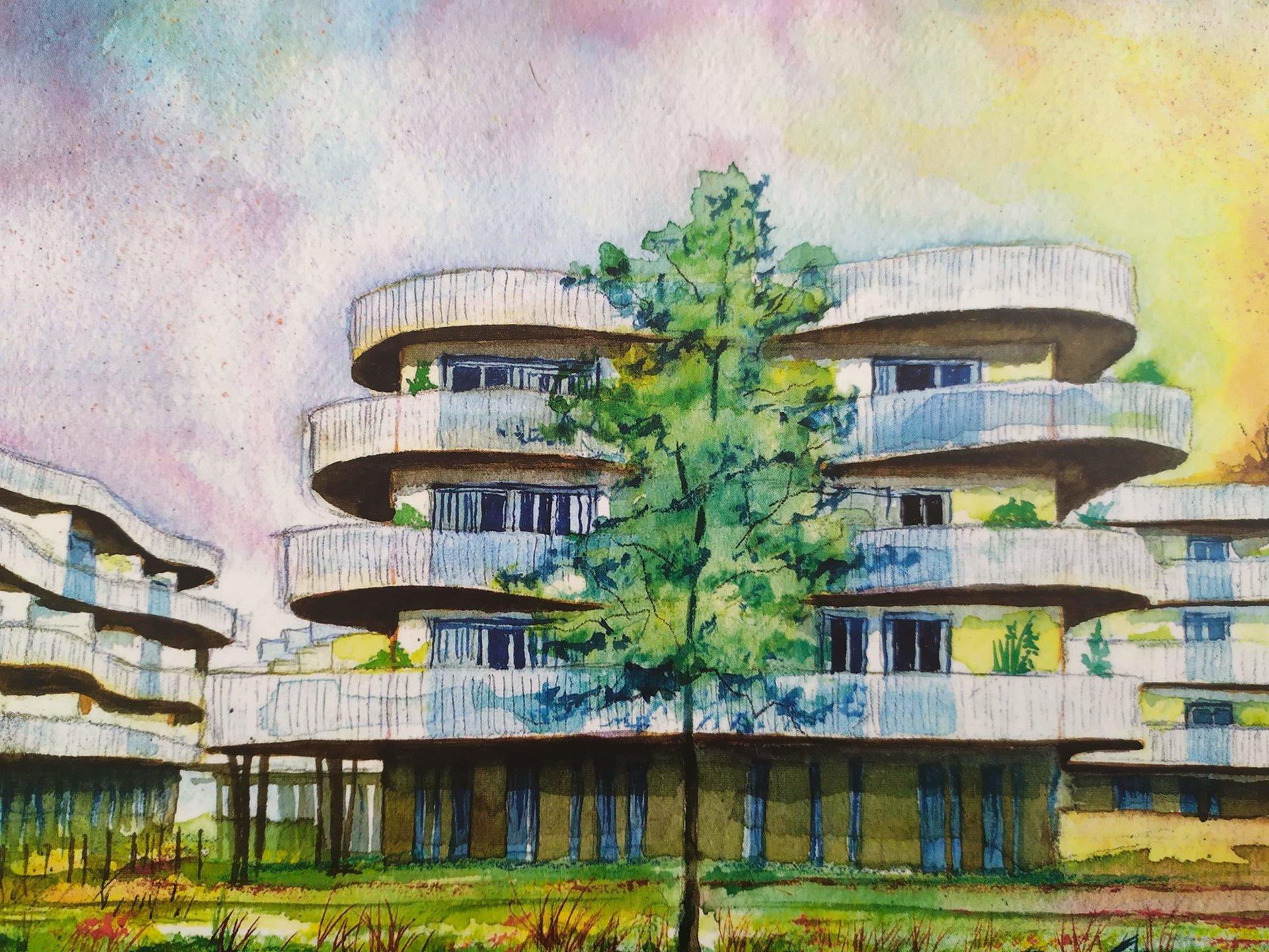 Appartement neuf T3 sud grande terrasse bayonne centre à vendre