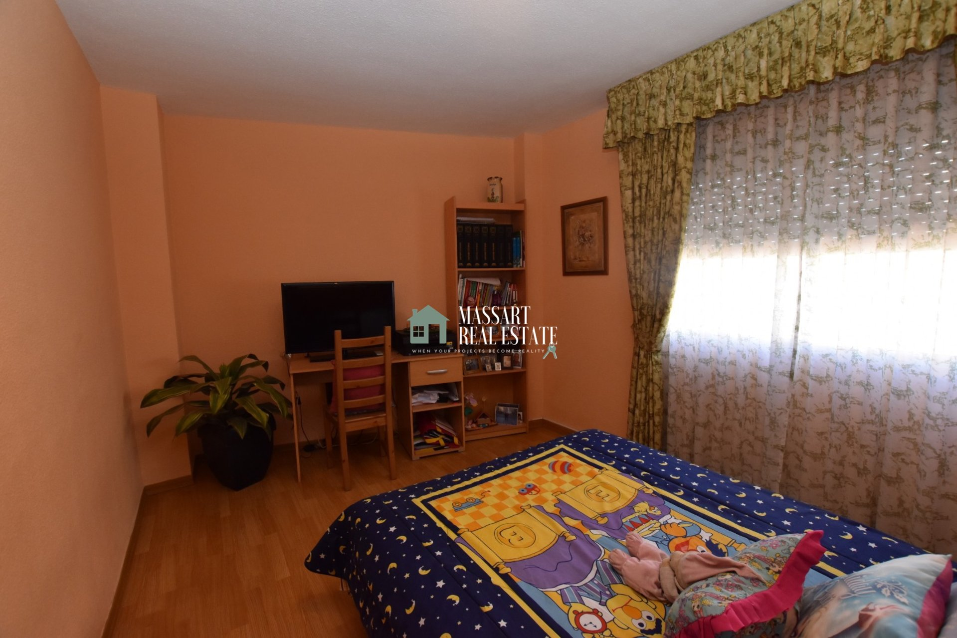 Furnished apartment of 98 m2 located in the center of Adeje