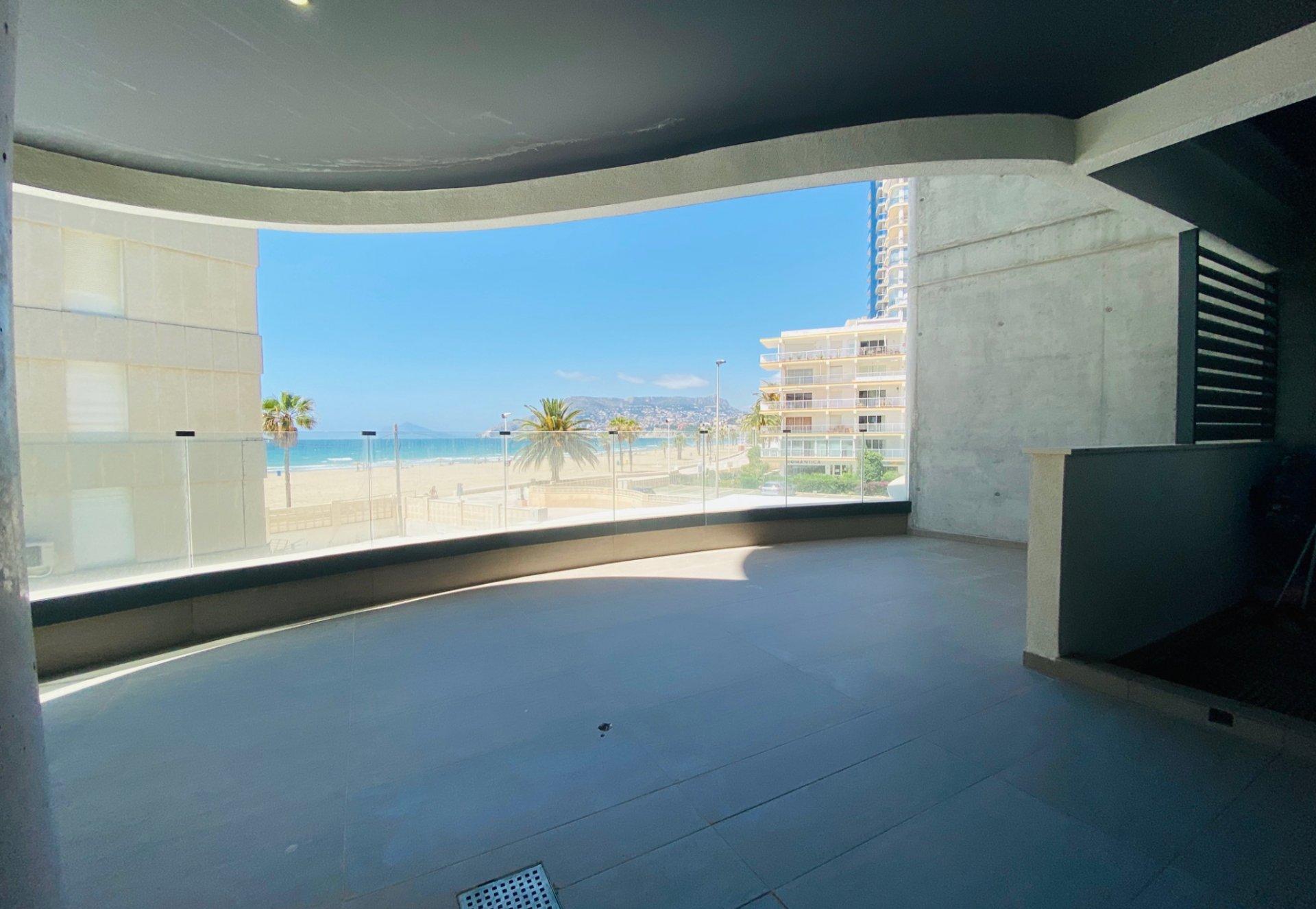 Nouveaux appartements situés sur le front de mer