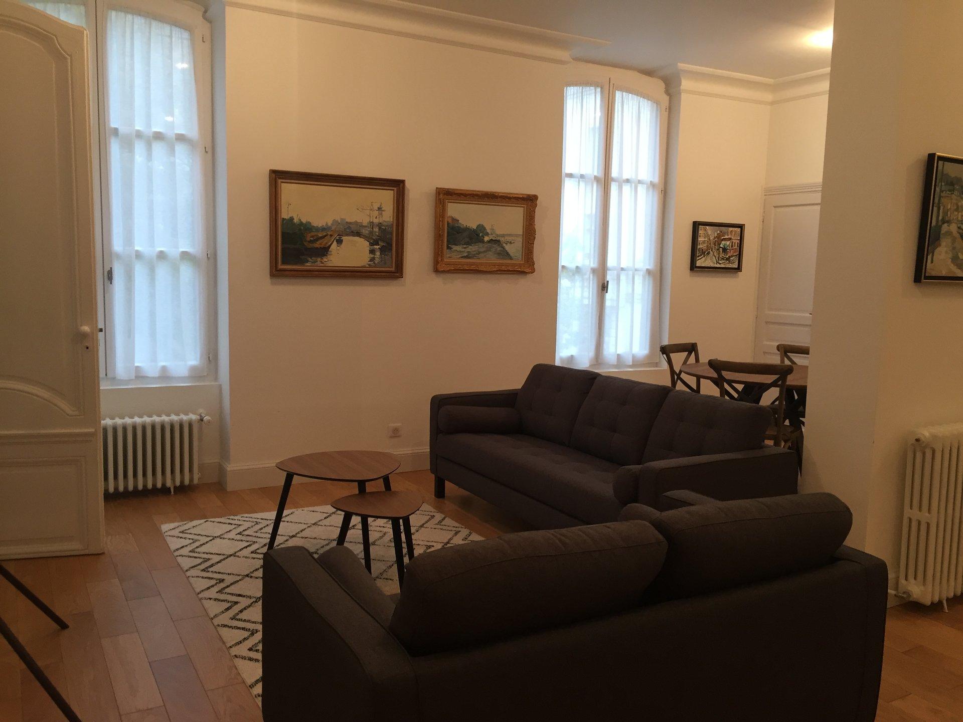 Appartement T4 Dans Hotel Particulier Rouen