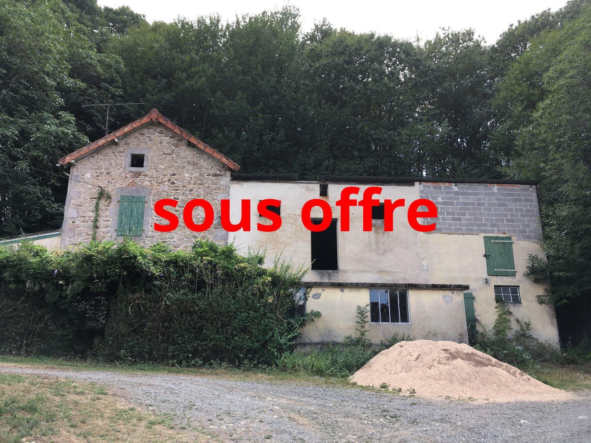 Maison à rénover à vendre près de Luzy, Bourgogne