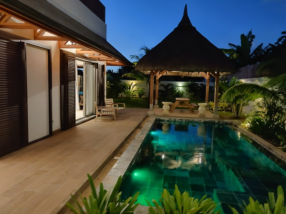 Luxurious and exotic villa
