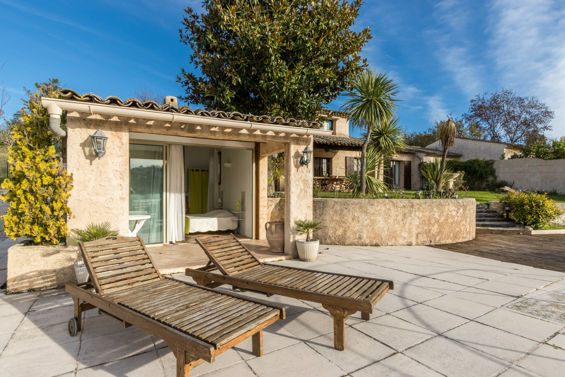 French riviera, St Paul de Vence, house of 200 sqm, swimming pool