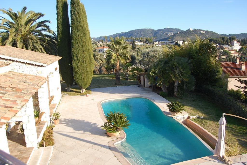 Nice Rimiez Villa 8p piscine