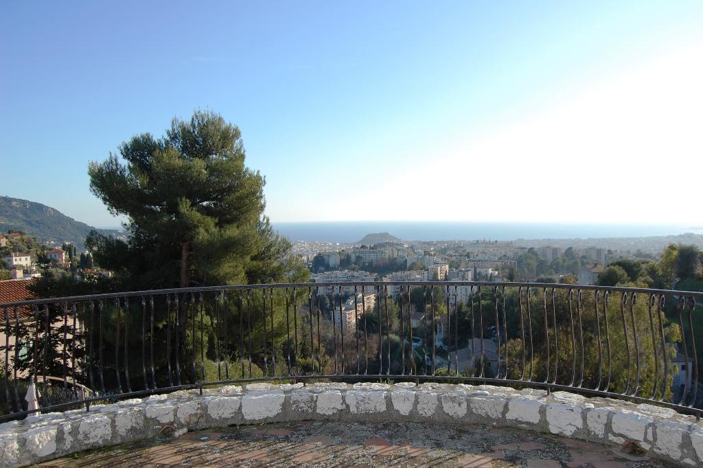 Nice Rimiez Villa 8p terrasse vue mer