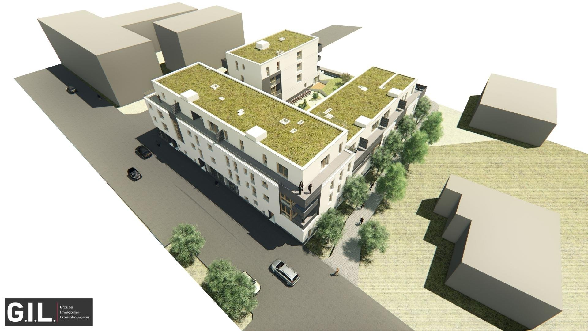 Résidence mixte de 34 appartements et 3 commerces