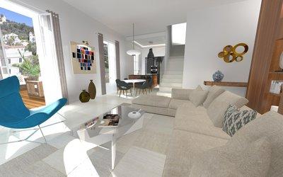 Splendide appartement T5 au cœur de Beaulieu sur Mer