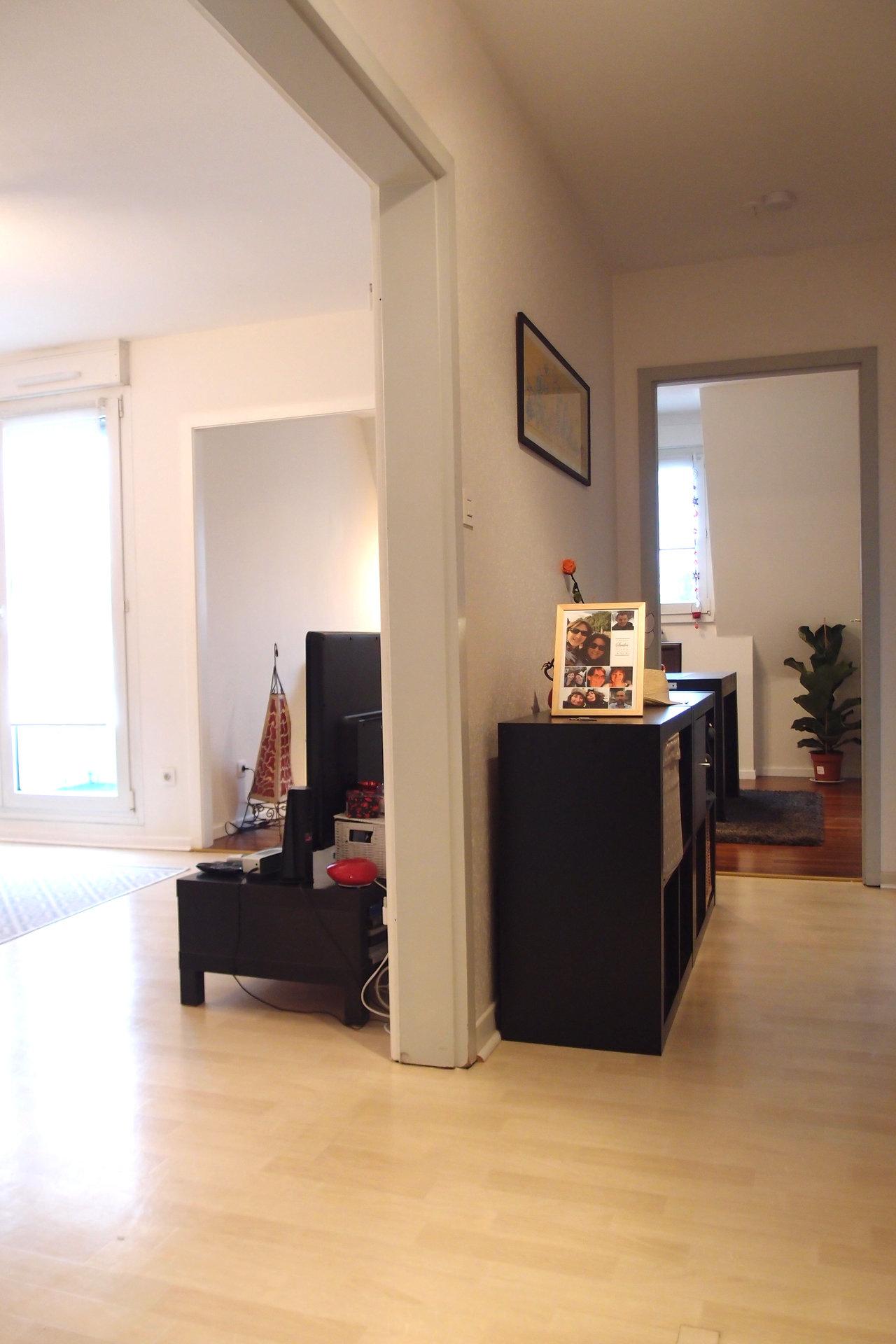 Eckbolsheim - Appartement 3 pièces avec balcon