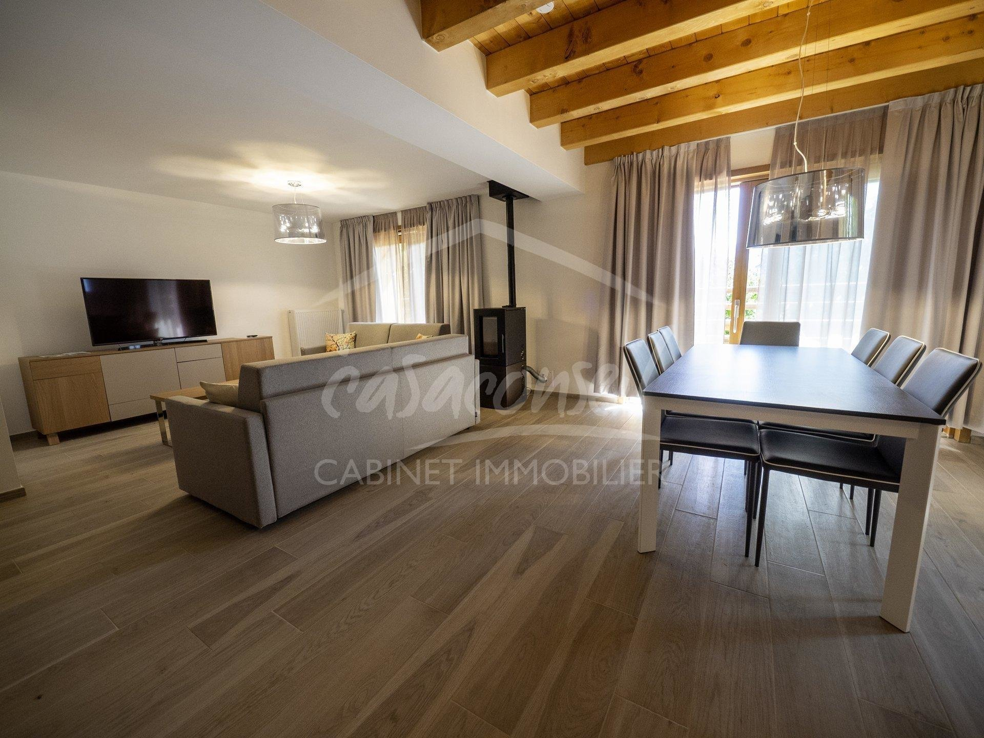 Combloux -  large apartment with views of Mont Blanc