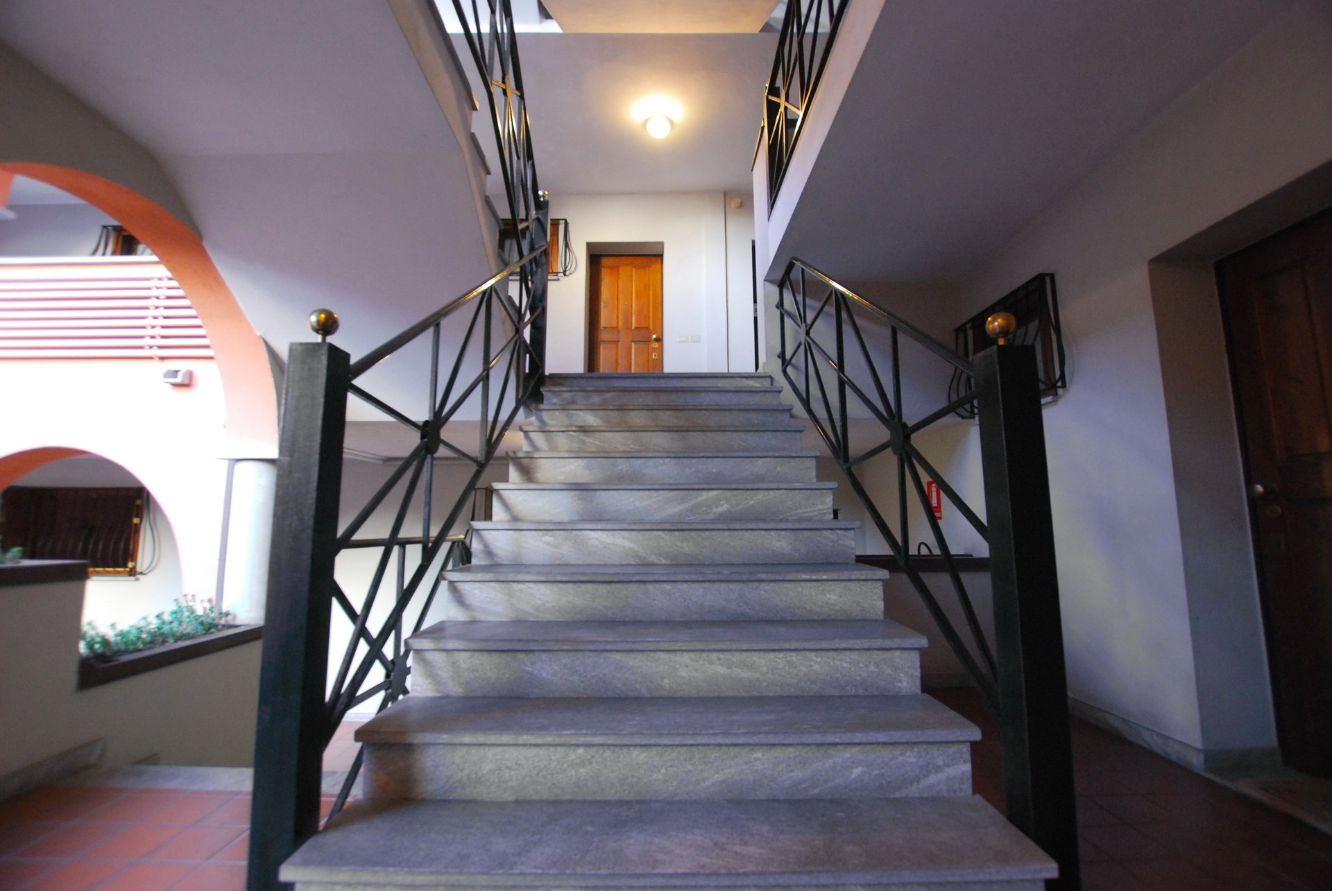 two-room apartament- staircase