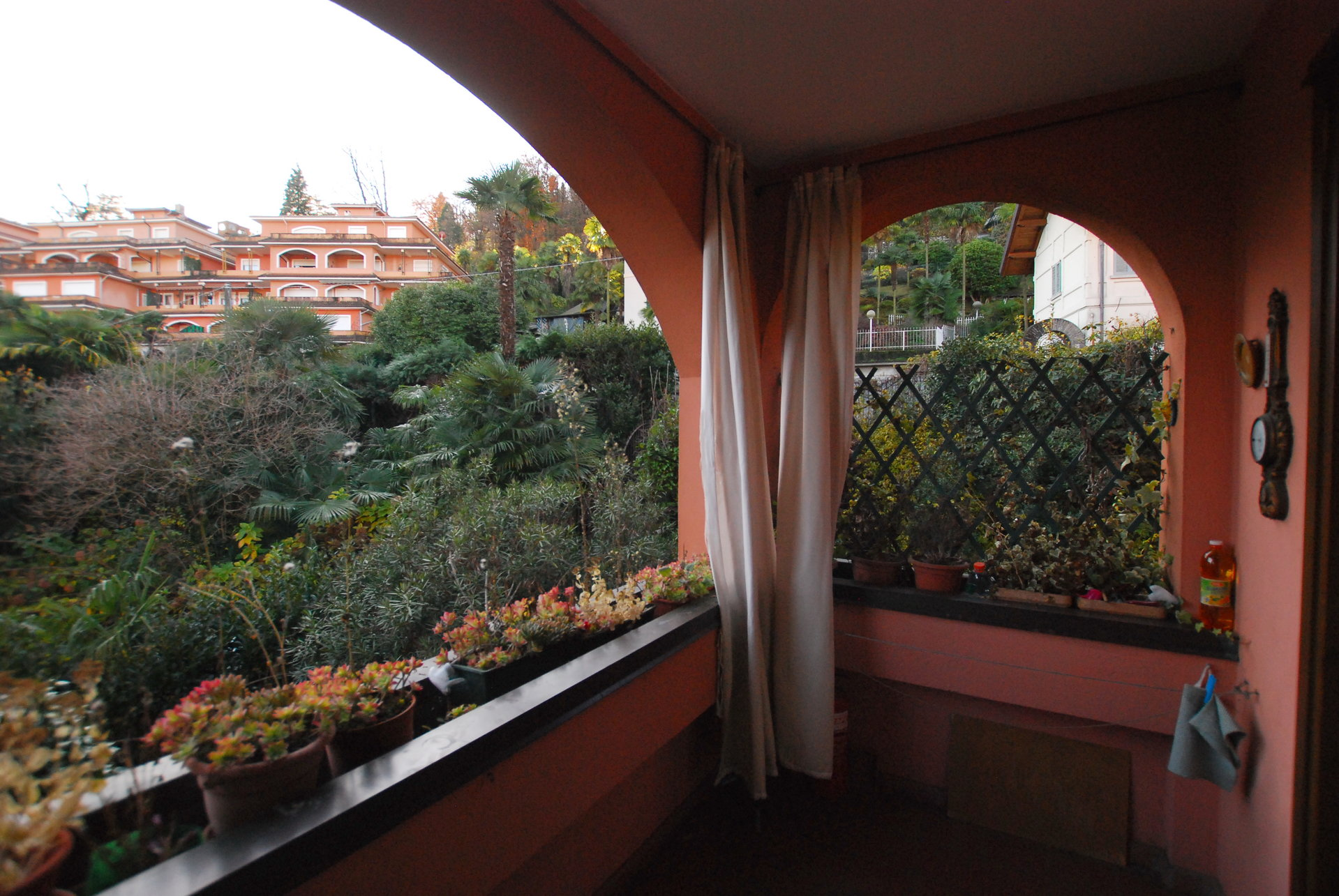 two-room apartament for sale in Stresa- balcony