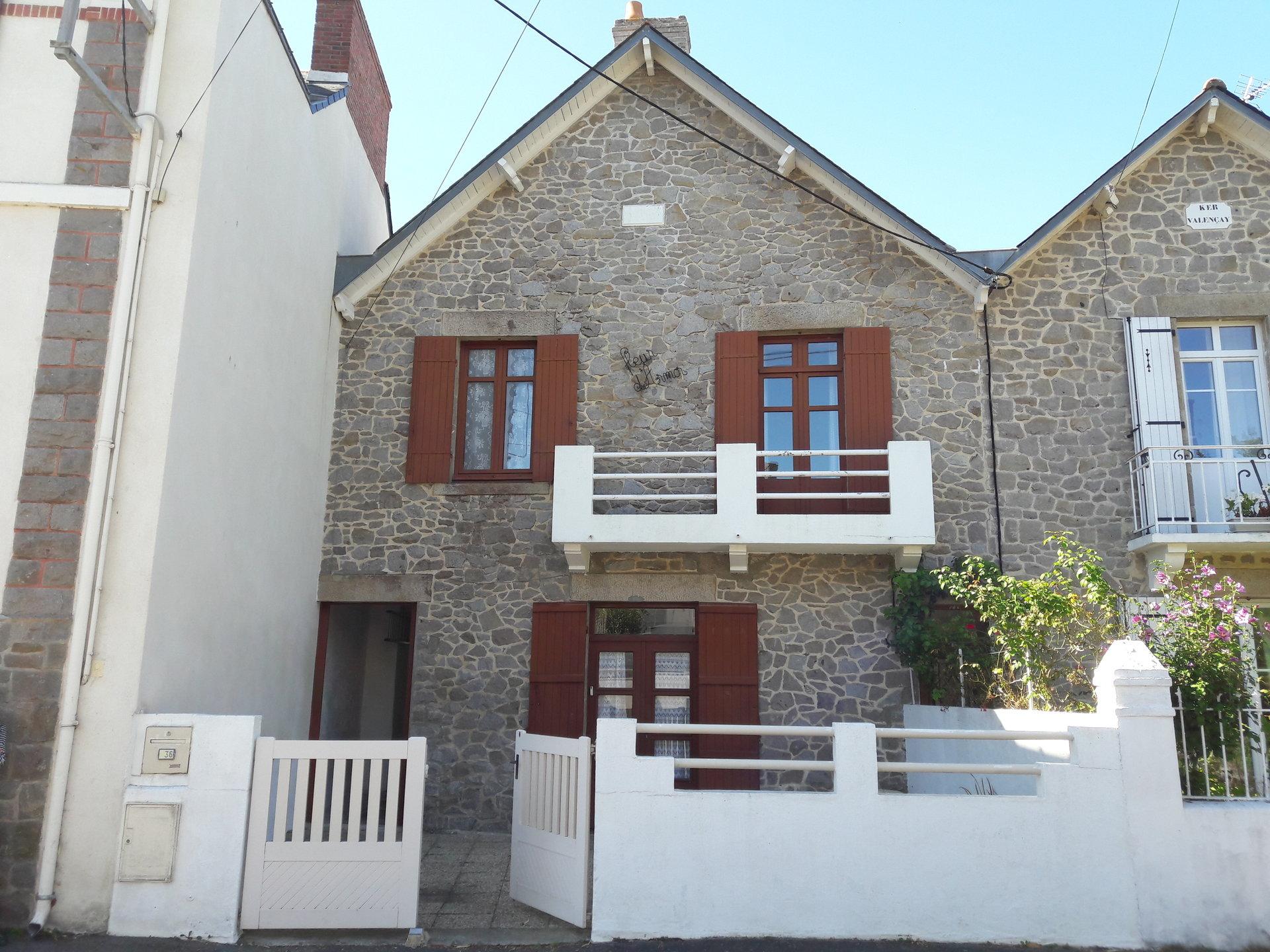Maison de caractère plage et mairie Le Pouliguen