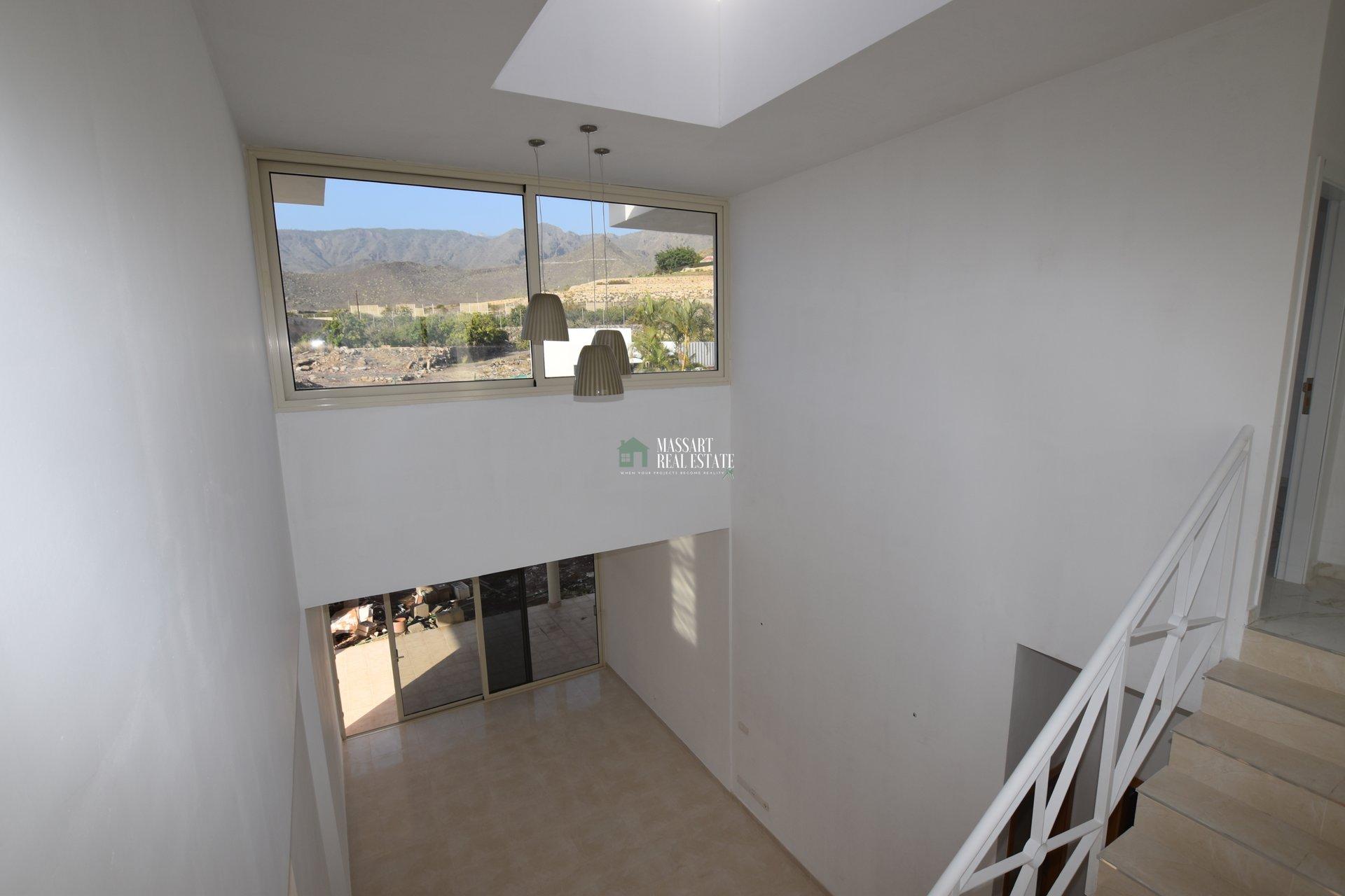 For sale in the quiet area of El Madroñal (Adeje), magnificent villa under construction.