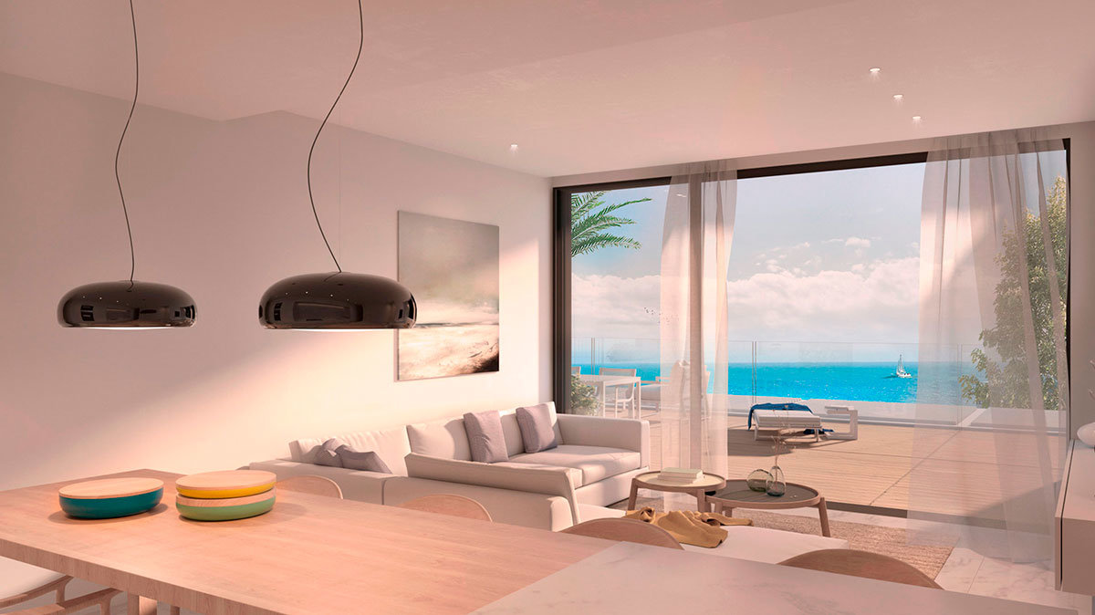 3 bedroom penthouses with sea views