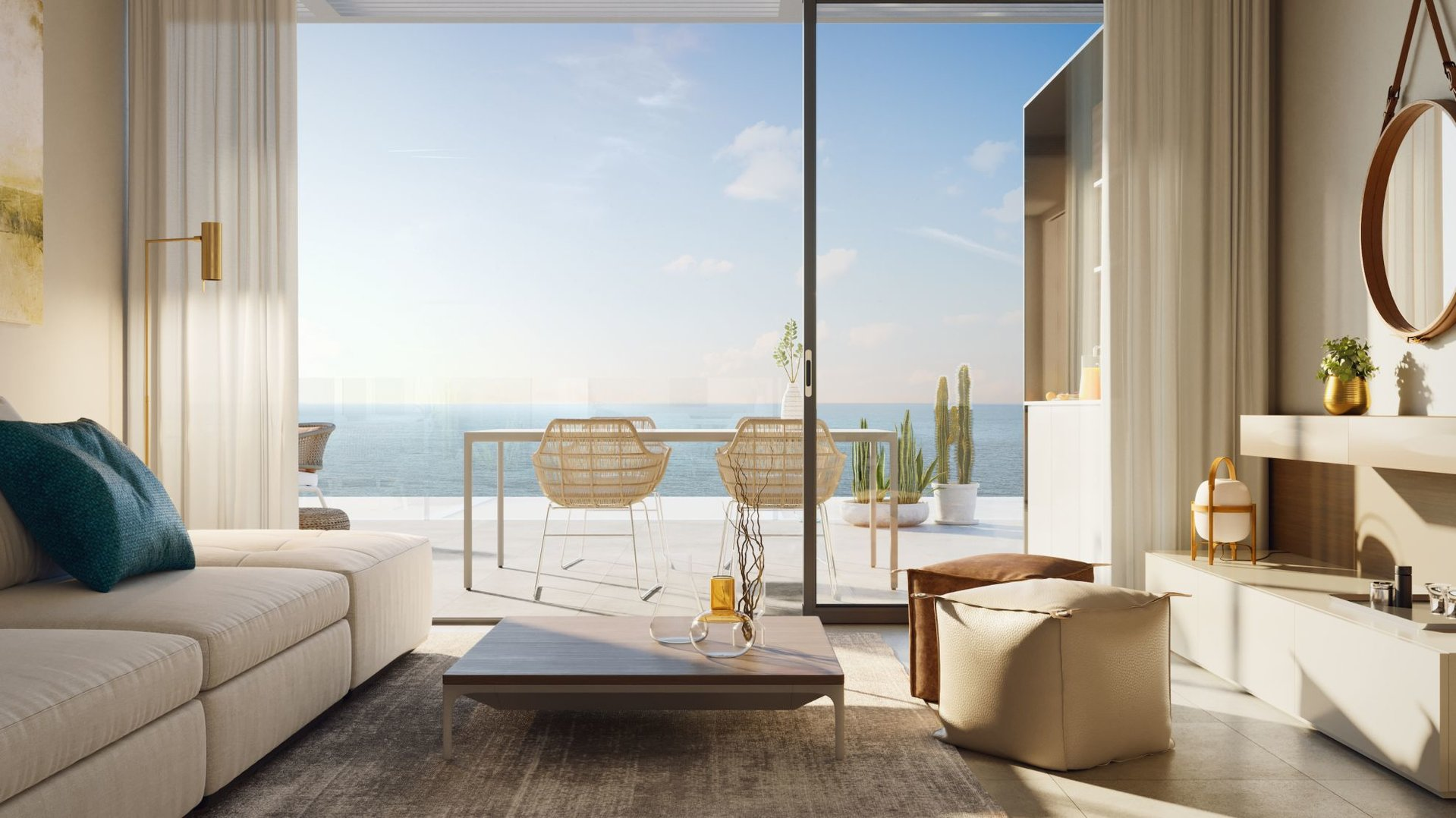 2 bedroom penthouses with sea views