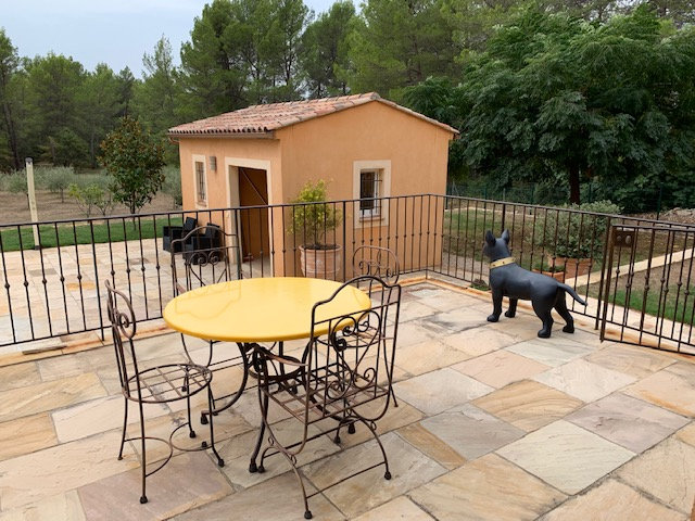 Villa situated in a quiet area.