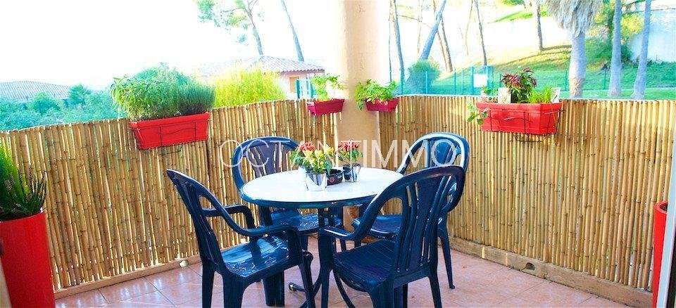 Biot Saint Philippe 1 bedrooms furnished appartment