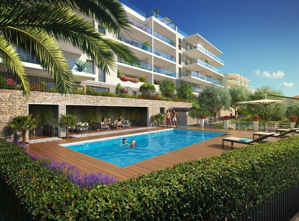 New project in Nice with sea view