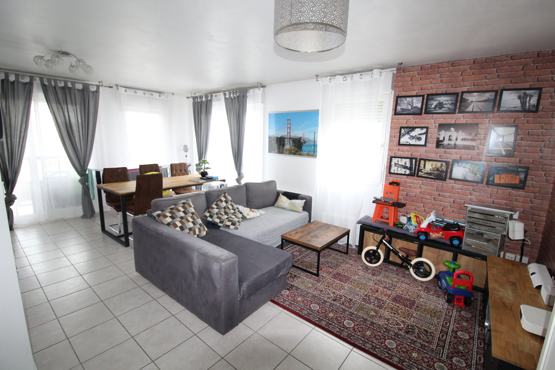 Saint-Etienne / Cité du design Appartement 3 pièces avec garage