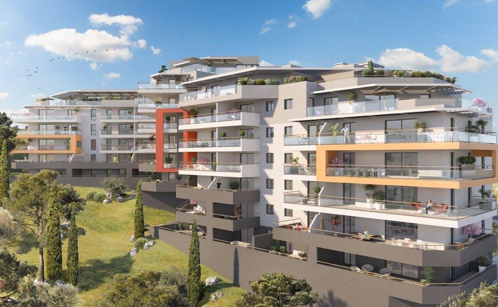 T2 neuf entrée d'Ajaccio de 46.30 m² Résidence  A Torra