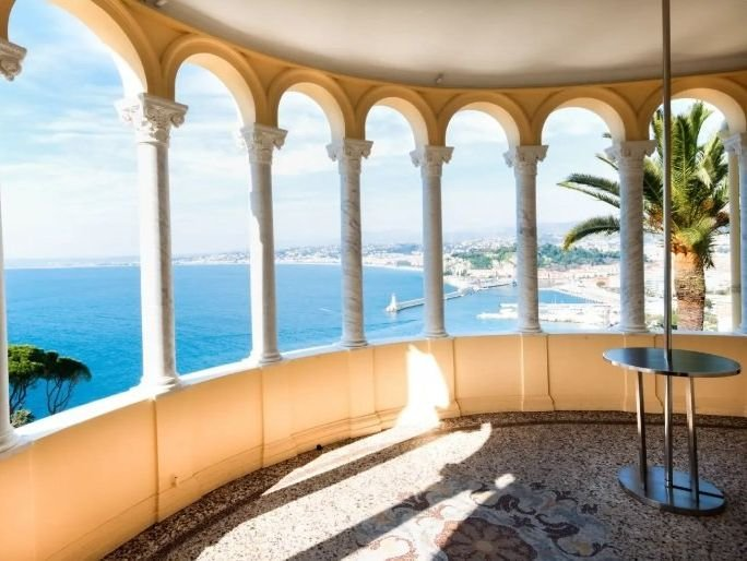Nice - Mont Boron - Luxury Château overlooking the sea